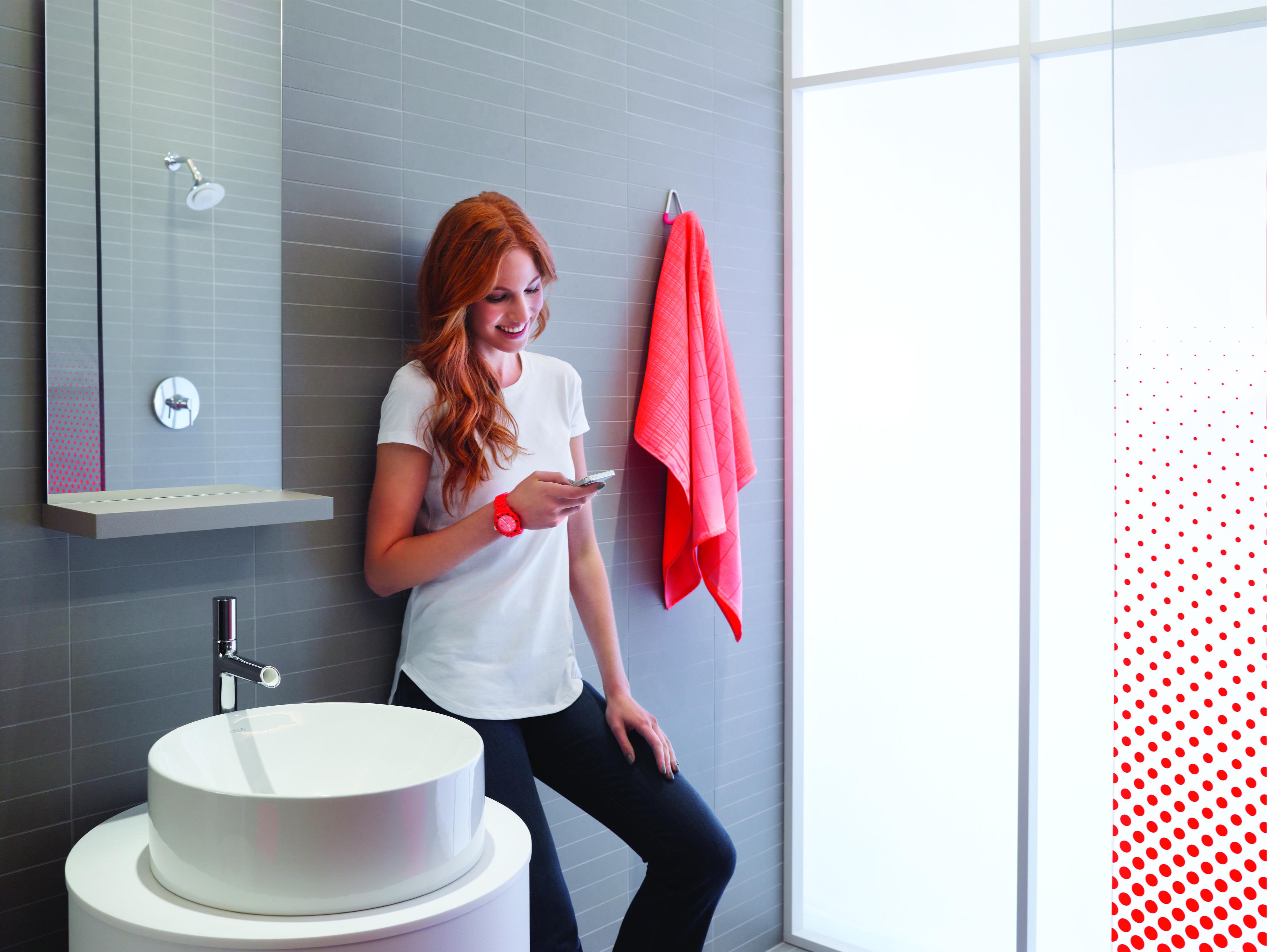 Te gusta escuchar m sica en la ducha ya existe moxie mujer y punto - Canciones para la ducha ...