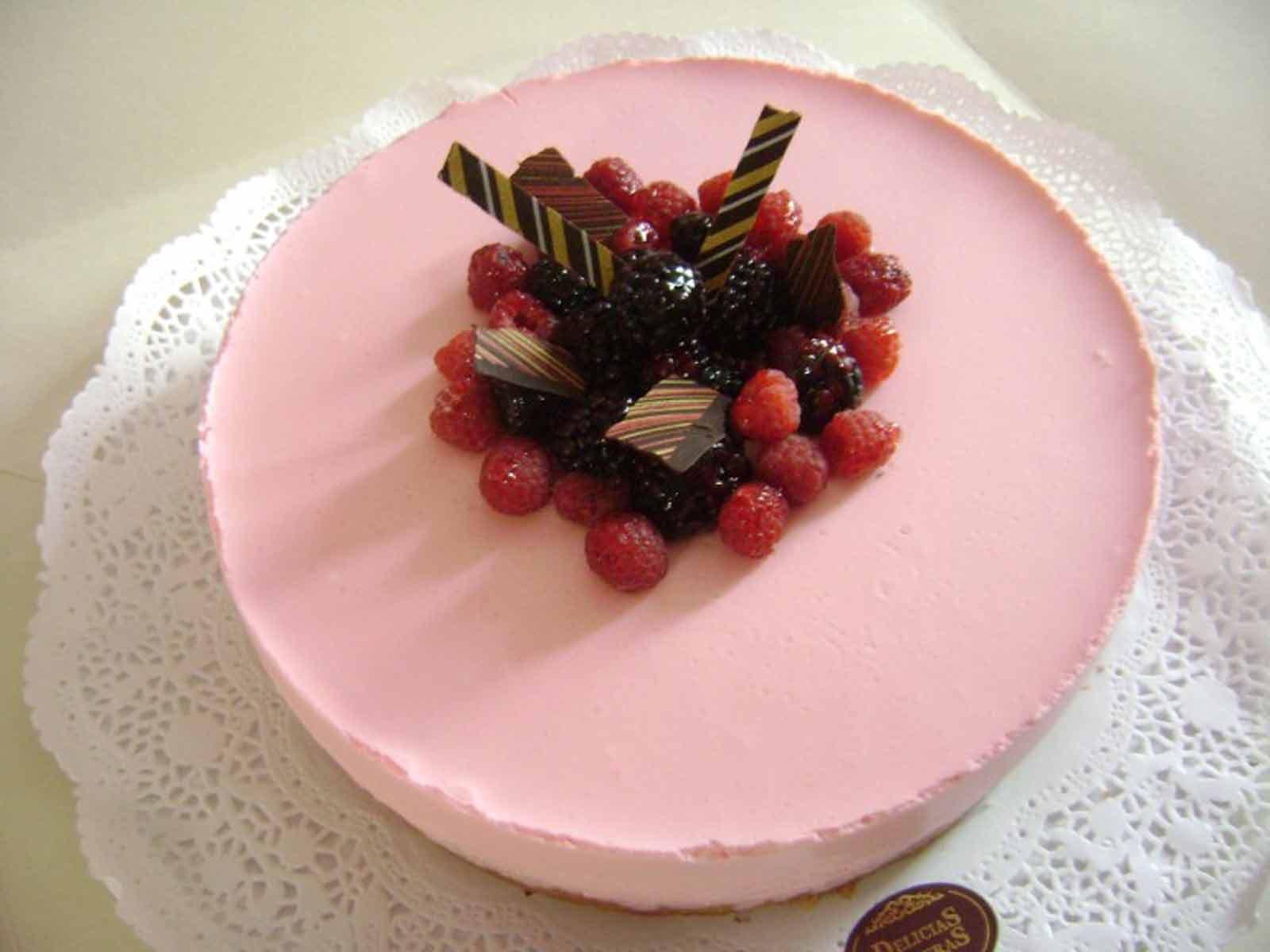 Torta de yogurt