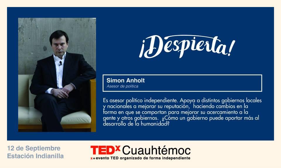 TEDx Simon Anholt