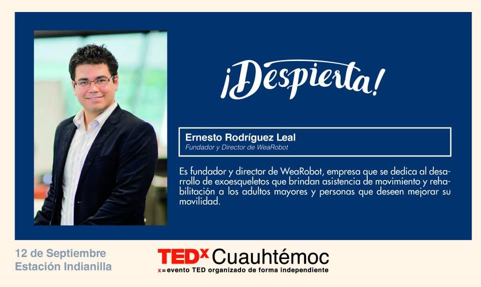 TEDX Ernesto Rodríguez Leal
