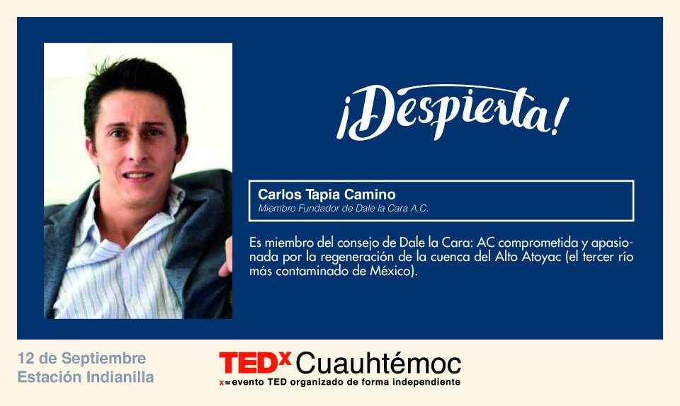 TEDx Carlos Tapia