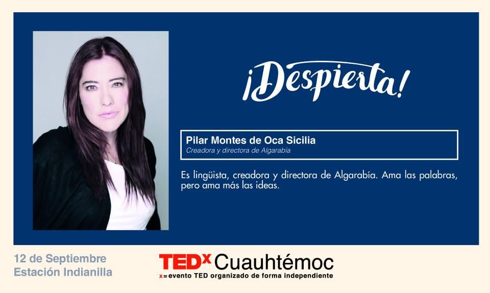 TEDx Pilar Montes de Oca