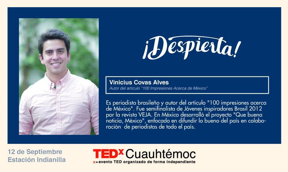 TEDx Vinicius Covas
