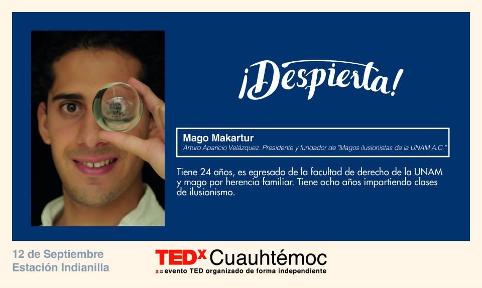 TEDx Mago Makartur
