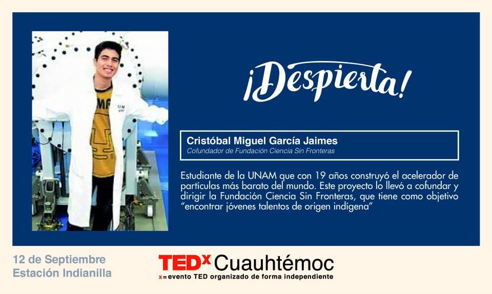 TEDx Cristóbal García