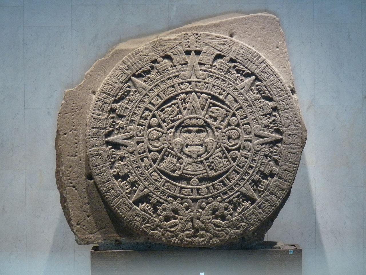 Sitios Prehispanicos Calendario Azteca