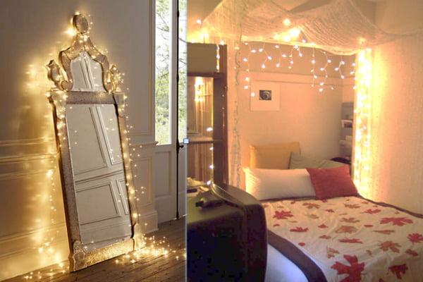 Luces navide as 13 decoraciones muy lindas mujer y punto mujer y punto - Focos de interior ...