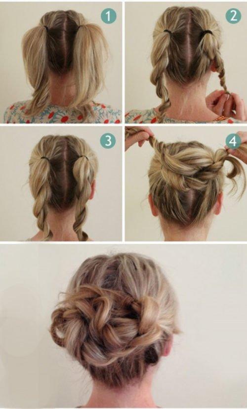 peinados faciles - Peinados Fciles