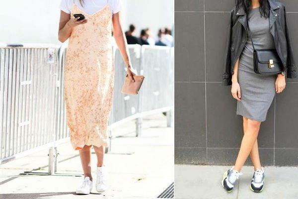 Vestidos Con Zapatillas Atrévete Mujer Y Punto