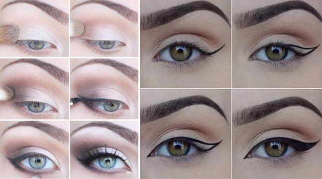 cmo pintarse los ojos delineado - Pintarse Los Ojos