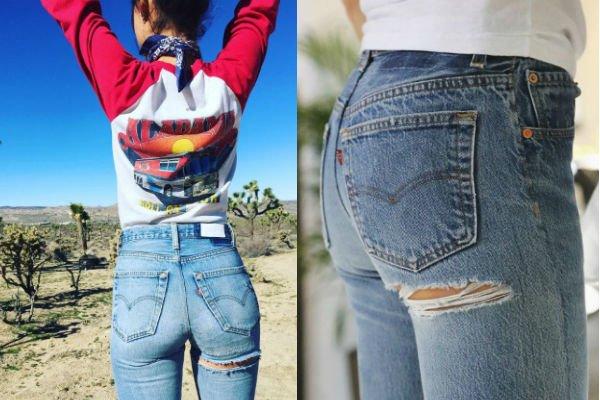 Jeans rasgados en el glúteo 4