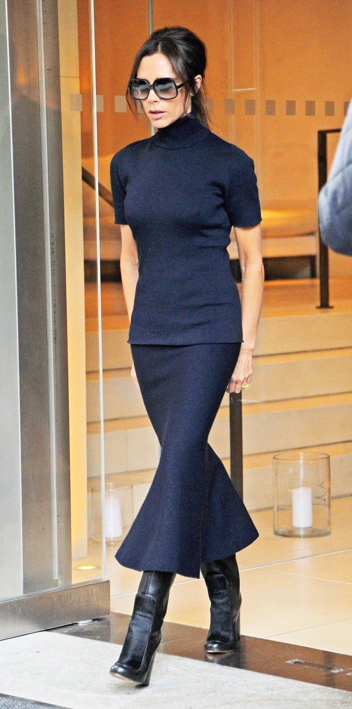 Victoria Beckham cabello