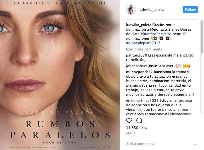 Ludwika Paleta nominación
