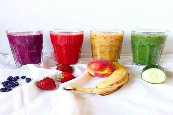 batidos de frutas y verduras