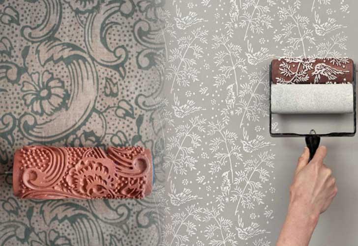 21-Create-a-Neat-Wallpaper-Look-Using-a-Paint-Roller