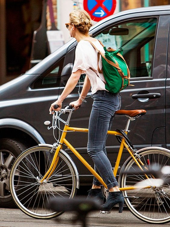 Mochila para bicicleta