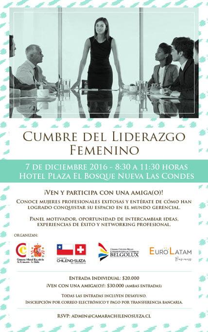 cumbre del liderazgo femenino