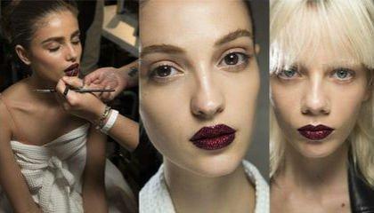 labios glitter versace