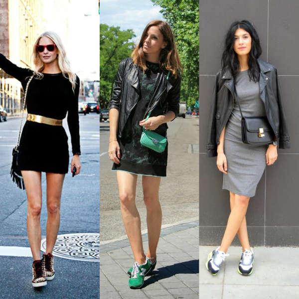 mejor selección 05ba8 739ad Vestidos con zapatillas, ¡atrévete! :Mujer y Punto