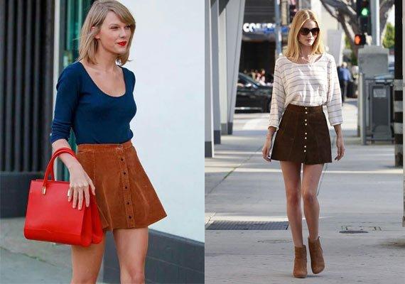 faldas con botones taylor rosie