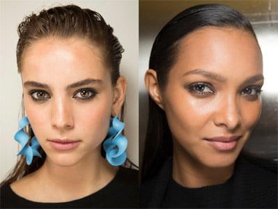ideas de maquillaje ahumado sutil