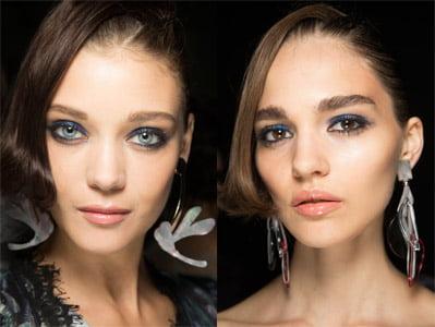 ideas de maquillaje azul