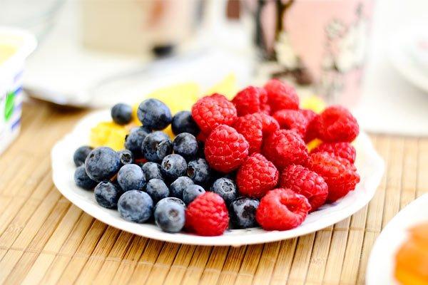 Cómo hacer té helado fruta