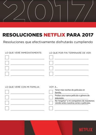 Netflix en enero Resoluciones_SPA
