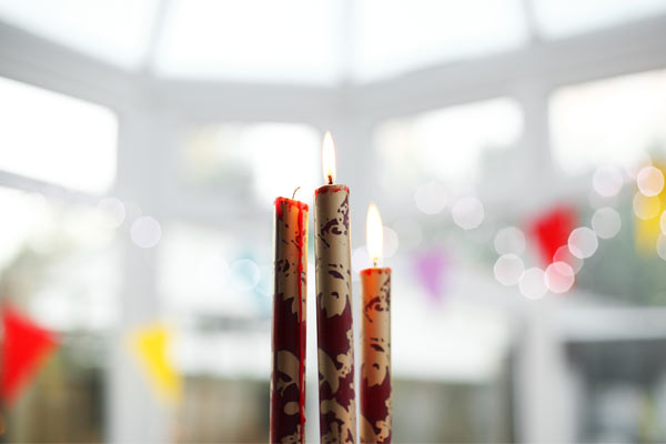 Juegos de relajación soplar la vela
