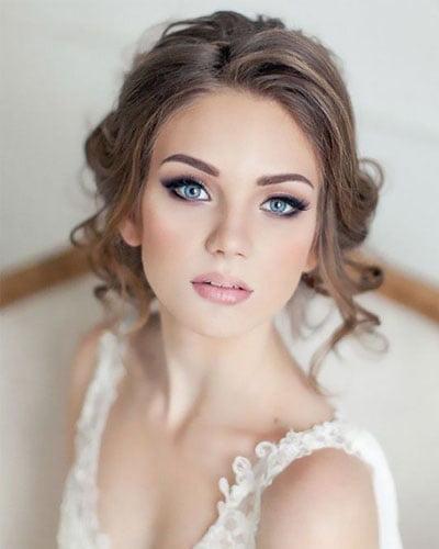 Maquillaje para novia ojos marcados