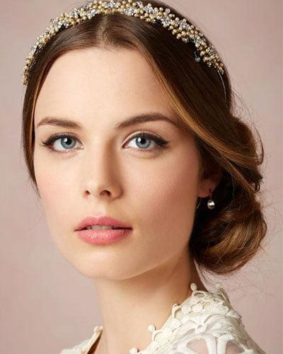 Maquillaje para novia delineado