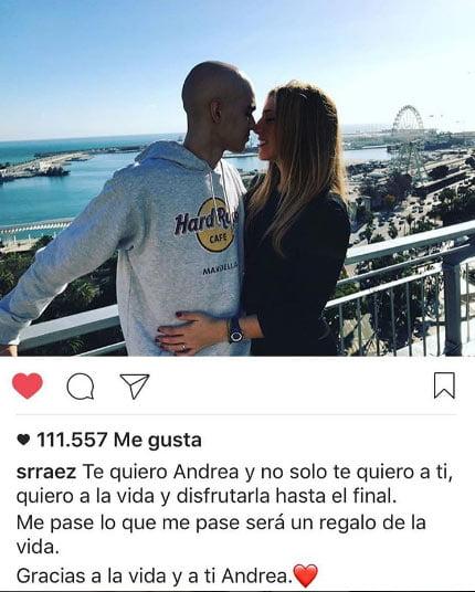 Pablo Ráez y Andrea