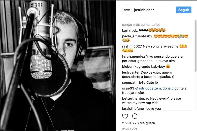 Justin Bieber Despacito Luis Fonsi