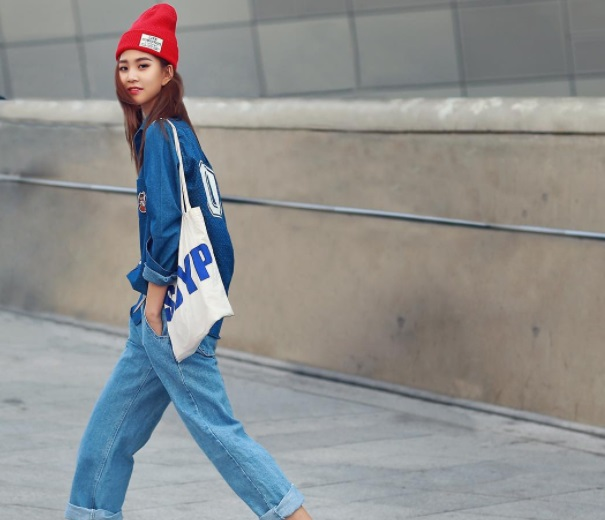 moda coreana tomboy