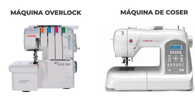 Máquinas de coser y Overlock: ¿Cuáles son las diferencias